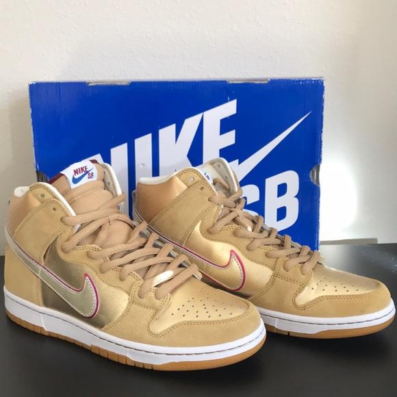 9d2e9dacee60 Nike Dunk HIgh Premium SB Eric Koston Thai Temple.  M 5c5a07e3a5d7c6b9258d98f2